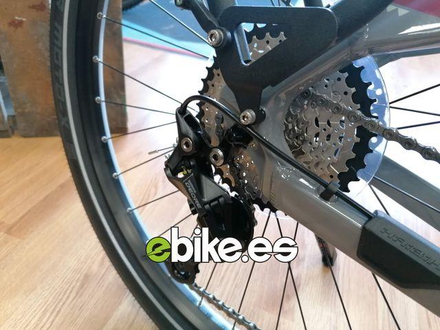 Bicicleta eléctrica polivalente