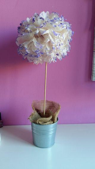 maceta flor decoracion