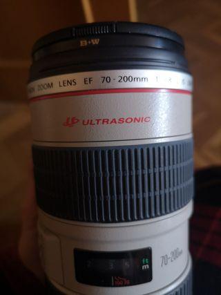 Canon objetivo 70 - 200 2.8