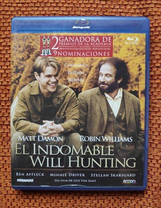 El Indomable Will Hunting Blu ray