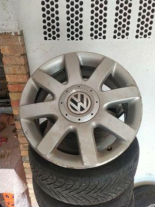 6 Llanta aluminio Volkswagen golf