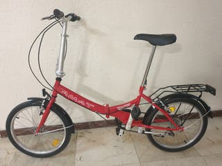bicicleta plegable nueva amat nautic