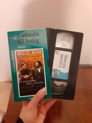 VHS El indomable Will Hunting