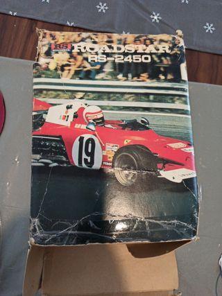 radio cassette. Vintage roadstar.