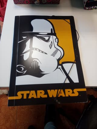 Carpeta plastico fina Star Wars