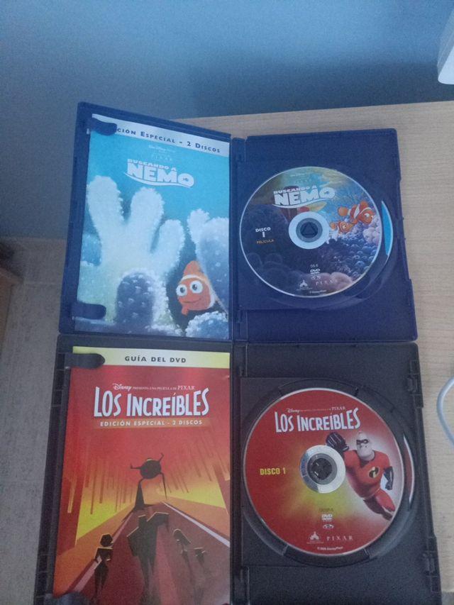 Pack DVD Películas Disney Pixar
