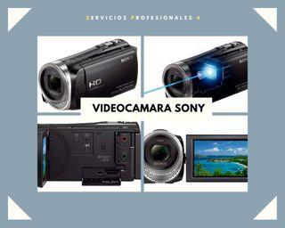 VIDEO CAMARA SONY HD.