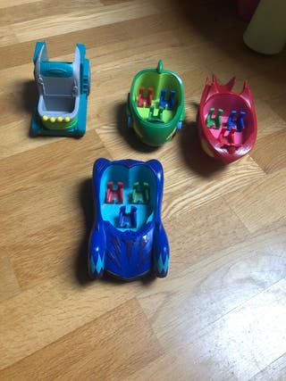 Coches pj mask