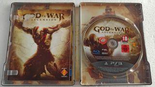 God of War Ascensión PS3 Steel Box