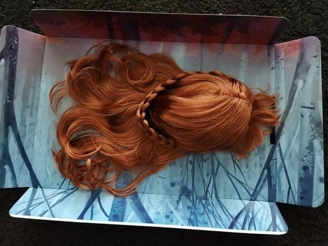 peluca Ana de Frozen II