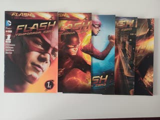 Flash Temporada cero cómics