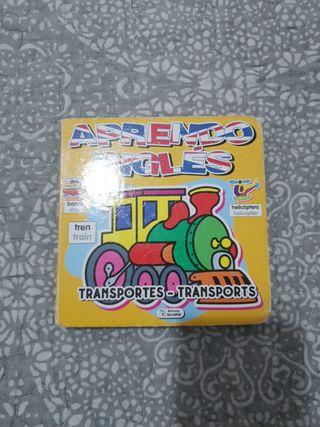 libro infantil transportes en ingles