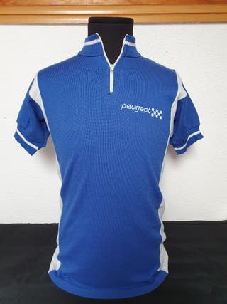 Antiguo Maillot ciclismo equipo Peugeot