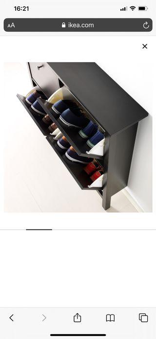 Zapatero Ikea modelo Hemned