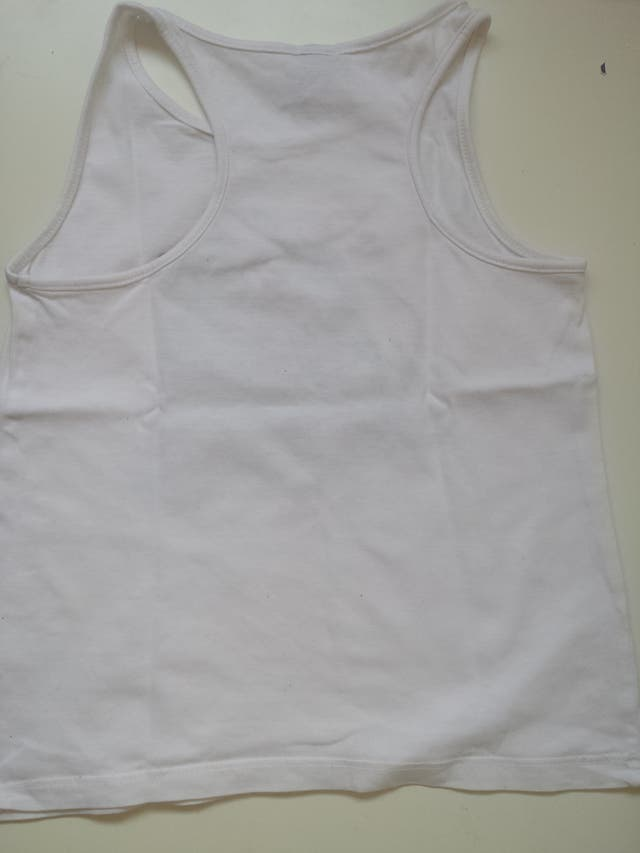 (384) (3x2) Camiseta tirantes 4 años
