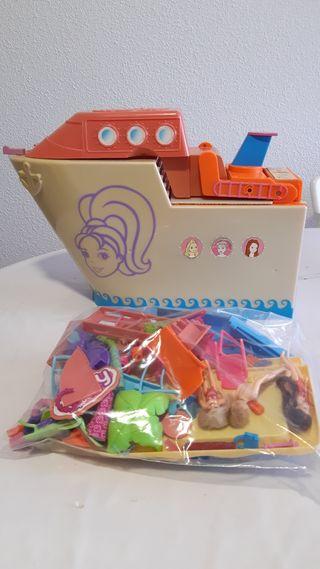 CHOLLO!! Mattel barco