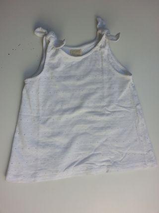 (595) (3x2) Blusa ZARA 6 años