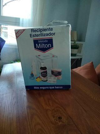 Recipiente esterilizador Milton