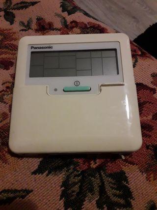control termostato de aire acondicionado Panasonic