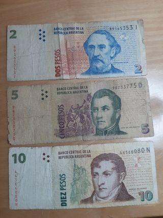 billetes argentina