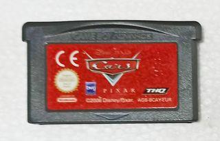 Juego de Cars para la Game Boy Advance Nintendo