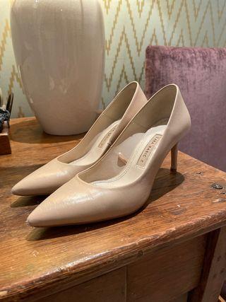Zapatos Zara Nude 36