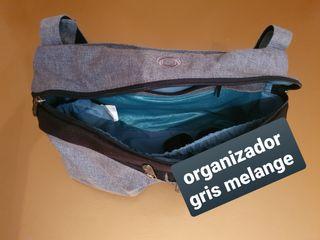 organizador bugaboo gris melange