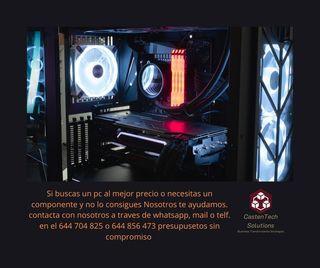 Pc Gaming y Componentes
