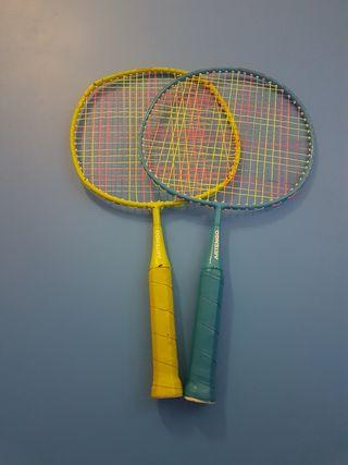 Raquetas badminton infantil
