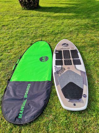 Tabla cabrinha de surf foil y kite