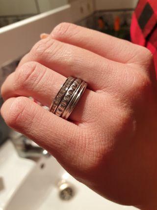 anillo calvin klein