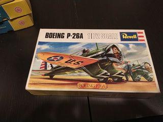 Maqueta vintage Boeing P26A
