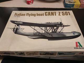 Maqueta vintage Cant Z 501 Italaerei