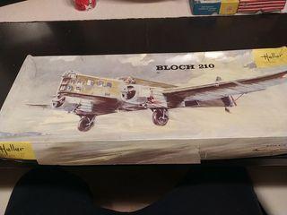 Maqueta vintage Bloch 210