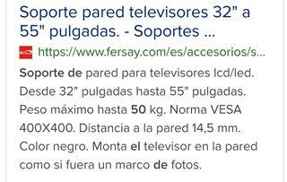 """brazo soporte TV/LCD """"nuevo uso"""""""