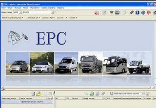 EPC WIS MERCEDES PENDRIVE USB 64GB Mercedes