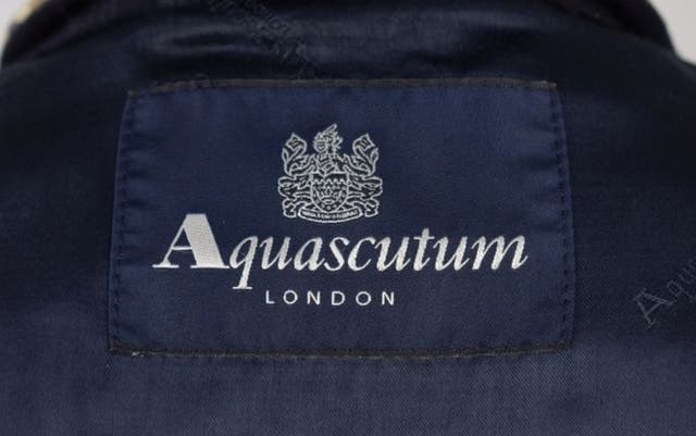 Abrigo Aquascutum de Lana talla 42