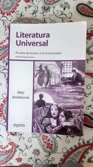 Libro literatura universal editorial algaida
