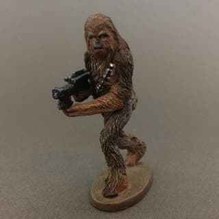STAR WARS Chewbacca | Figura de plomo 2005