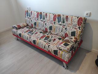 sofá cama clic clac moderno 3 plazas