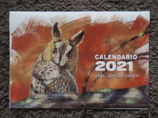 Calendario 2021 (Vida Silvestre Ibérica)