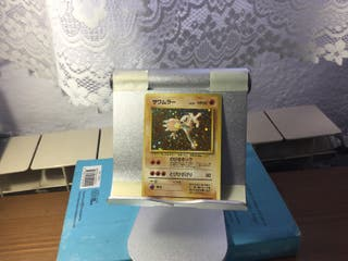 Carta Pokemon japonesa original. De 1996. No.106.