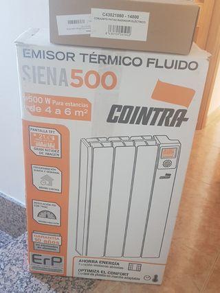 EMISOR TERMICO FLUIDO COINTRA SIENA 500W . 3 ELEM.