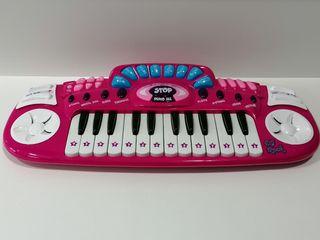 Piano rosa DJ Rock para niñas.