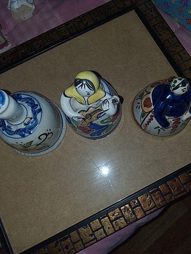 lote campanas ceramica