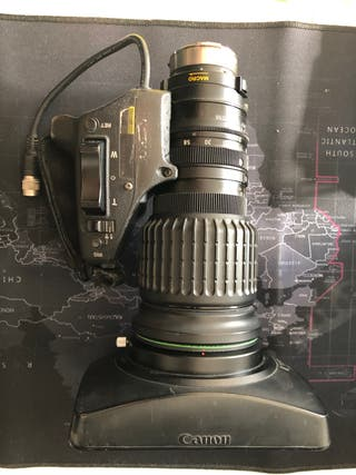 Objetivo Canon Videocámara