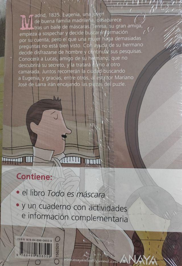 Todo es Máscara, de Rosa Huertas.