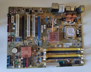 Placa Asus P5KR + Procesador Intel Core2 Duo E6600