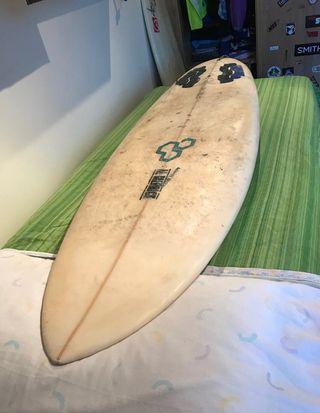 Tabla de surf evolutiva allmerrick biscuit 5,10