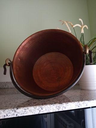 caldera autentico cobre